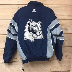 Vintage Penn State Starter Jacket Pullover Sz S